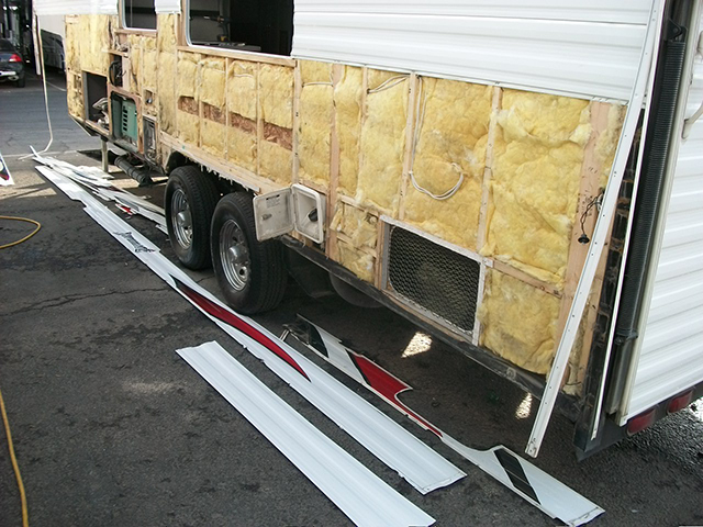 How to repair RV Water Damage